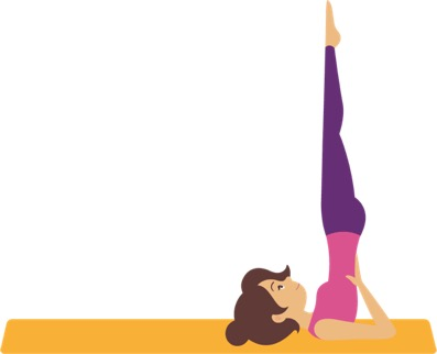 travel yoga headstand