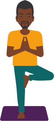 travel yoga tree pose