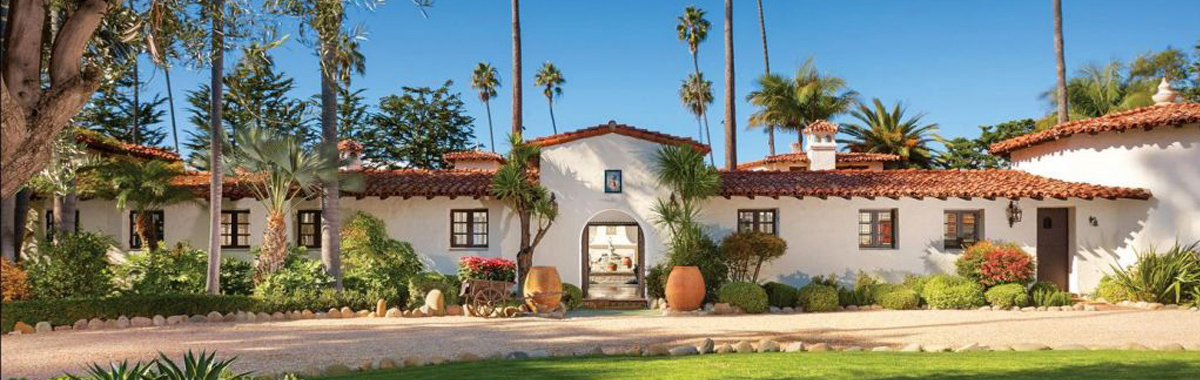 Former President Richard Nixon's 'Western White House' mansion in Oceanside, California