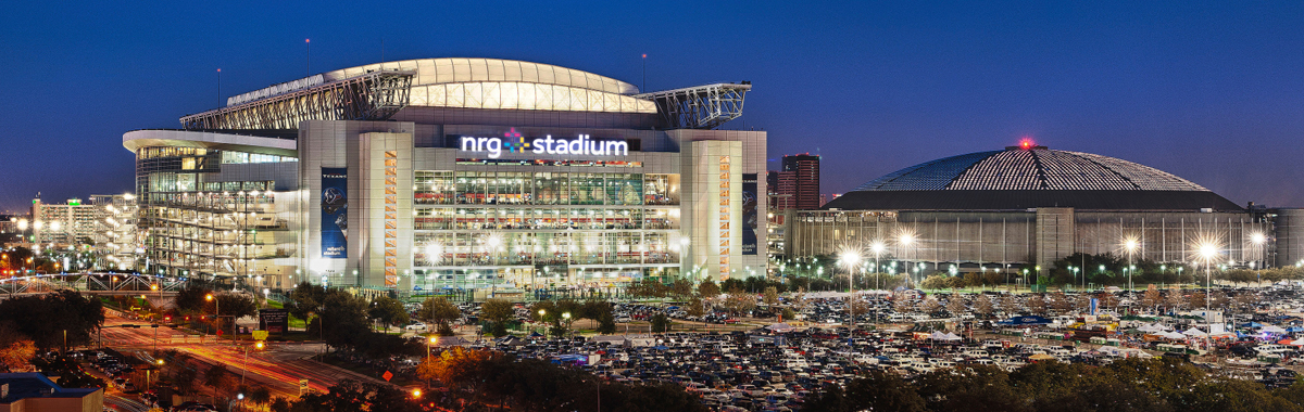 NRG Stadium, site of Super Bowl 51 in Houston, Texas